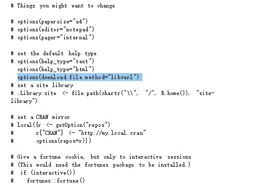 Rstudio 中install.packages失败解决方式 - 程序员大本营