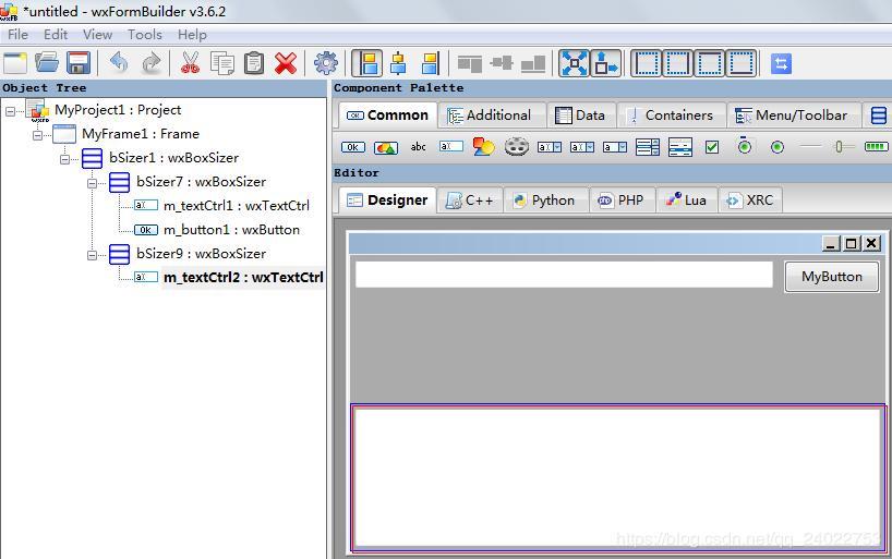 Eclipse+PyDev配合wxFormBuilder使用制作python图形界面- 程序员大本营